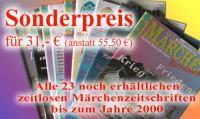 23 zeitlose Märchenzeitschriften bis zum Jahr 2000 - SONDERPREIS